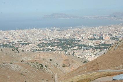 Panorama dalla discarica