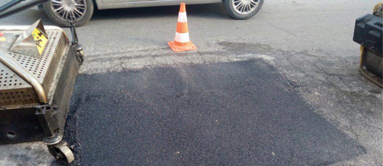 foto manutenzione strade per sezione i nostri servizi